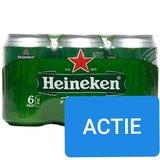 Heineken Pils Blik 6 stuks_