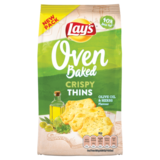 Lay's Oven Baked Oven Baked Olive & Herbs Crispy Thins_