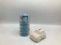 Foam clay set met spaarauto