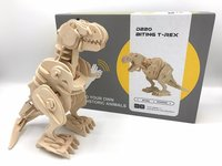 De Grommende en bijtende T-Rex