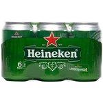 Heineken Pils Blik 6 stuks