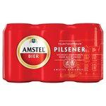 Amstel Pils Blik 6 stuks