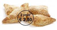 Appelflappen 3 voor € 2,50