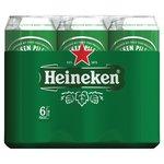 Heineken blik 6 x 50 cl