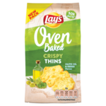 Lay's Oven Baked Oven Baked Olive & Herbs Crispy Thins