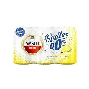 Amstel Radler 0.0 blik 6 stuks