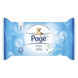 Page Vochtig Toiletpapier Cotton Fresh