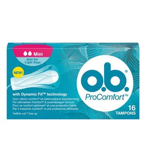 O.B. Pro-Comfort Tampons Mini