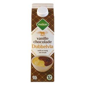 Melkan Dubbelvla vanille chocolade