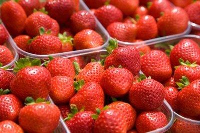 Verse Hollandse aardbeien